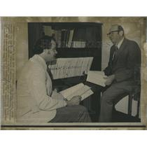 1973 Press Photo Sam Dash, Chief Counsel Senate Watergate Committee - RSH95835