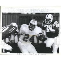 1978 Press Photo Delvin William Bruce Laird Dwight Harrison Orange Bowl