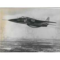 """1968 Press Photo First Prototype of """"Jaguar (Reconnaissance version)"""