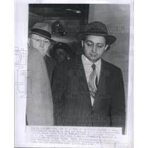 1950 Press Photo Harry Gold Charged With Espionage Evidence From Dr. Klaus Fuchs