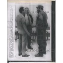 1967 Press Photo Kosygin and Castro Meet Together - RSH63185