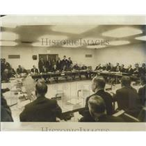 1969 Press Photo NATO Foreign Ministers Meet In Washington