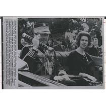 1964 Press Photo King Constantine and Princess Irene - RSH75159