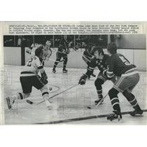 1972 Press Photo Brad Park and Joey Johnston  - RSH21843
