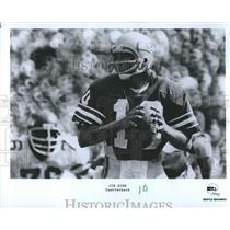 Press Photo Jim Zorn Quarterback Seattle Seahawks - RSH35455