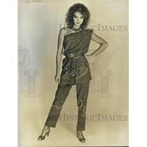 1982 Press Photo Jean Patou Spring and Summer Collection