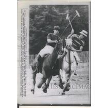 1965 Press Photo Prince Philip Of England During Polo Match Windsor Great Park