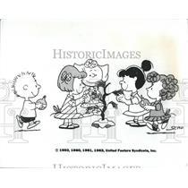 1983 Press Photo of 1950 Photo Charlie Brown Cartoon, Christmas - RSH95175
