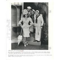 "1940 Press Photo ""Panama Battle"" starring Ethel Merman - RSH70619"