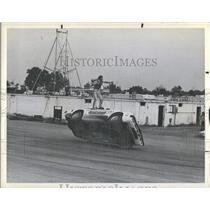 1977 Press Photo Joie Chitwood Auto Thrill Show - RSH29669