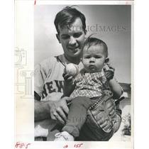 1956 Press Photo mets Pitcher Dennis - RSH35885