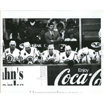 1993 Press Photo B's Bench during Buffalo Game 2  - RSH24333