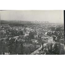 1918 Press Photo Aerial View Of Soissons City France - XXB05951