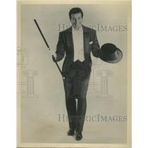 1964 Press Photo Hugh O'Brian Actor And Dancer Appears At The Hollywood Palace