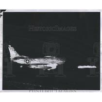 1956 Press Photo Air Force Plane. - RSH69549