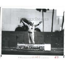 1951 Press Photo Captian Dynamite, Al Lang Stadium - RSH49875
