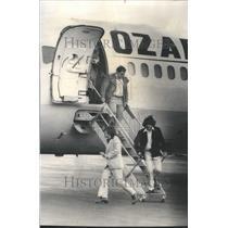 1976 Press Photo Passengers O'Hare Airport Gambling - RRU80631