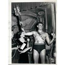 1953 Press Photo Mister Berlin 1953 - Wolfgang Engel - KSB15717
