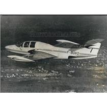 "1957 Press Photo Morane-Saulmier"" at Paris aviation show"""