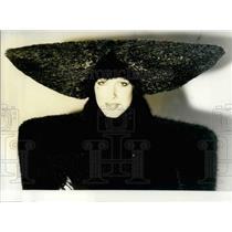 1979 Press Photo Paco Rabanne Synthetic Fur Coat - KSB25769