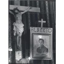 1970 Press Photo Alberto Gonnella, the Dead Nephew of Guiseppina Gonnella