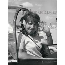1967 Press Photo Yvonne Breure Wins Aerial Tour de France