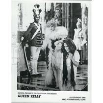 "1985 Press Photo Actress Gloria Swanson Stars In Movie ""Queen Kelly"" Circa 1929"