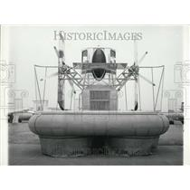 1965 Press Photo 26th Aeronautic and Space Expo Features Hovercraft