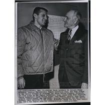 1964 Press Photo Tommy McDonald Philadelphia Eagles Traded Dallas Cowboys