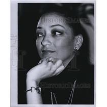 1979 Press Photo News Correspondent Charlene Mitchell - RSL82197