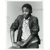 "1990 Press Photo Actor Malcolm Jamal Warner As Theo In ""The Cosby Show"""