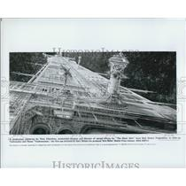 """1979 Press Photo Director of Special Effects Peter Ellenshaw for """"The Black"""
