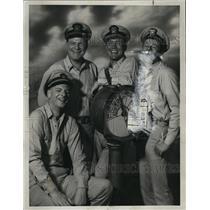 1965 Press Photo George Ives Richard Slattery Roger Smith Steve Harmon Actor