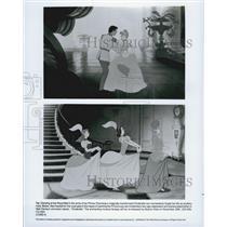 "1949 Press Photo Walt Disneyâ€s Animated Classic ""Cinderella"""