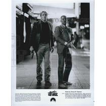 "1990 Press Photo Actor Nick Nolte, Eddie Murphy in ""Another 48 Hrs."" Film"