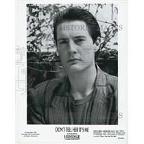"1990 Press Photo Actor Kyle MacLachlan in ""Don't Tell Her It's Me"" Film"
