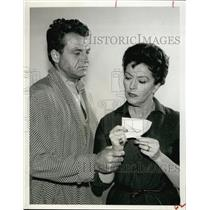 Press Photo American Actress Nancy Kelly with male co-star - RSL60717