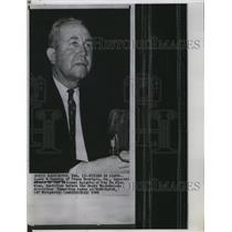 1966 Press Photo James R Venable, of KKK testifies in Wash DC - RSL92267