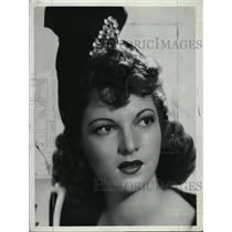 1940 Press Photo Actress Ann Corio - RSL46475