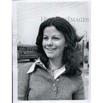 1974 Press Photo Kathy Caram Student At Gibbs High School - RSL62815