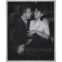 """1960 Press Photo Actor Ned Beatty & Mary Dole In """"The Diamond Rattler"""""""