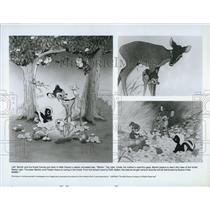 "1943 Press Photo Disney Animated Movie ""Bambi"" - DFPG29205"