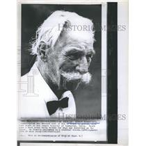 1965 Press Photo Dr. Albert Schweitzer died in Lambarene,Gabon - RSH72373