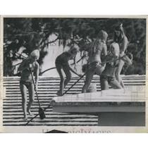 1968 Press Photo L; Judy MacMullen, Lynda Jean, Cindy Rosenfeldt,Deedee