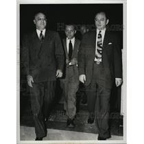 1944 Press Photo Ernest Peter Burger Nazi Saboteur Jail time - RSL47005