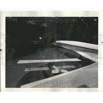 1966 Press Photo Boeing Airplane Replicas First B&W-1A - RRR94465