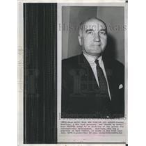 1961 Press Photo Fowler Hamilton Director Agency International Development