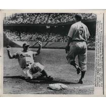 1949 Press Photo Andy Semenick of Phillies