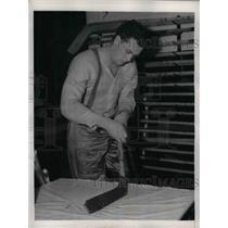 1940 Press Photo Murray Patrick , defense man of NY Rangers - nea06603