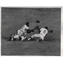 1965 Press Photo Tony Taylor, 2nd baseman, Johnny Briggs, Johnny Callison